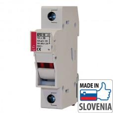 Разъединитель EFD10 1p для цилиндрических предохранителей CH10x38