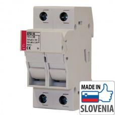 Разъединитель EFD10 2p для цилиндрических предохранителей CH10x38