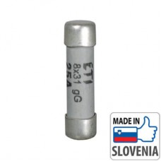 Цилиндрический предохранитель ETI серии CH8x32 gL/gG (10А)