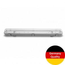 Линейный LED светильник Eurolamp для ламп LED T8x2 (0.6m) (10)