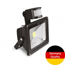 LED-прожектор Euroelectric с датчиком движения COB (10Вт, 6500K)