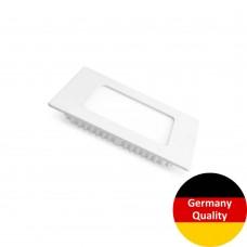 LED-панель Eurolamp квадратная 4W 3000K 220V (LED-DLS-4/3)