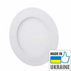 Светильник Eurosvet LED-R-120-6 6Вт, 4200К, круглый (120мм)