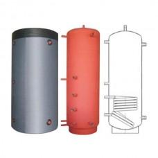 Бак (бойлер) для горячей воды BakiLux АБНП-1Н-1000 (1000 л, 1 теплообменник, ⌀25)