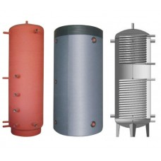 Бак (бойлер) для горячей воды BakiLux АБНП-2-1000 (1000 л, 2 теплообменника, ⌀20)
