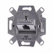 Механизм компьютерной розетки Jung ECO profi  RJ46 Cat6 (экранированная) (EPUAE8UPOK6)