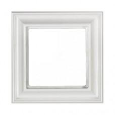 """Рамка одноместная Jung ECO profi Design. Цвет """"Белый"""" (EPD481WW)"""