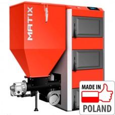 Автоматический пеллетный котел Kolton Matix-17, 19 кВт