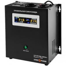 Источник бесперебойного питания LogicPower LPY-W-PSW-1500VA+ (1050Вт) 10A/15A с правильной синусоидой 24В