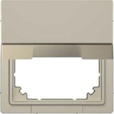 Адаптер для инсталляции Merten с крышкой System M в D-Life. Цвет Сахара