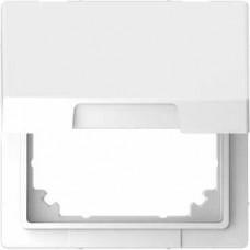 Адаптер для инсталляции Merten с крышкой System M в D-Life. Цвет Белый лотос
