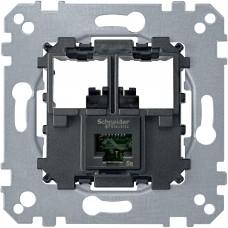 Коннектор RJ45 CAT6 UTP Merten MTN4576-0001