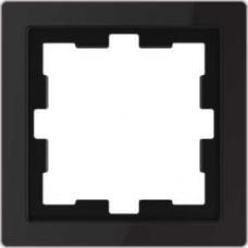 Рамка D-Life 1-постовая черный оникс (MTN4010-6503)