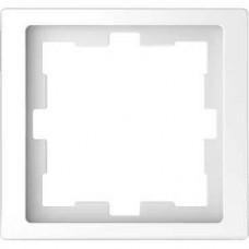 Рамка D-Life 1-постовая белый лотос (MTN4010-6535)