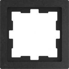 Рамка D-Life 1-постовая базальт (MTN4010-6547)