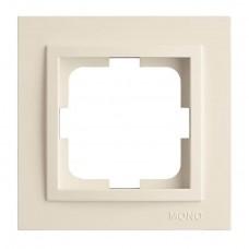 Рамка одинарная серии Despina (Mono Electric) Белая