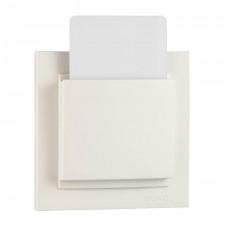 Выключатель карточный с таймером 24V серии Despina (Mono Electric) Белый