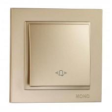 Кнопка звонка серии Despina (Mono Electric). Цвет Титан