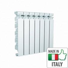 Алюминиевый радиатор отопления Nova Florida GENIALE 500/80, 3/4 (7 секций)
