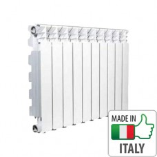 Алюминиевый радиатор отопления Nova Florida DESIDERYO B3, 500/100 (10 секций)
