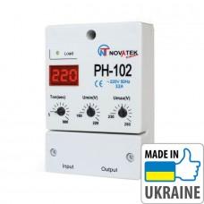 Однофазное мощное реле напряжения Новатек-Электро РН-102