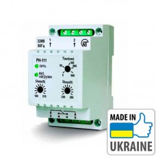 Однофазное реле напряжения Новатек-Электро РН-111