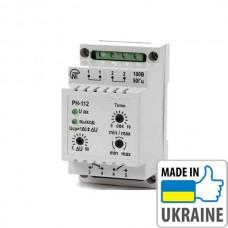 Универсальное электронное реле max/min напряжения Новатек-Электро РН-112