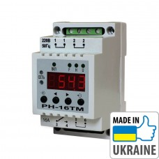Суточно-недельный таймер с функцией реле напряжения Новатек-Электро РН-16ТM