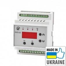 Трехфазное реле напряжения и контроля фаз Новатек-Электро РНПП-302