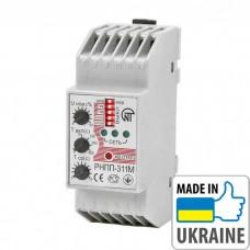 Трехфазное реле напряжения, перекоса и последовательности фаз Новатек-Электро РНПП-311M