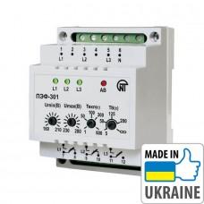 Электронное реле выбора фаз Новатек-Электро ПЭФ-301