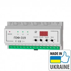 Электронное реле выбора фаз Новатек-Электро ПЭФ-319