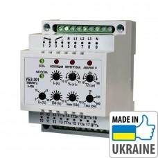 Универсальный блок защиты электродвигателей Новатек-Электро УБЗ-301 5-50А