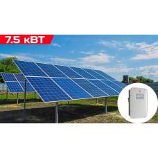 Сетевая солнечная электростанция 7.5 кВт