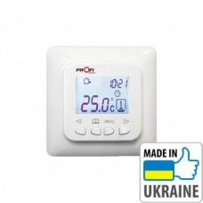 Цифровой программируемый терморегулятор для теплого пола ProfiTherm-Pro