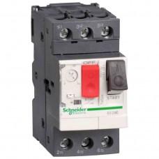 Автоматический выключатель для защиты электродвигателей 0,75 кВт Schneider Electric Tesys GV2 GV2ME07