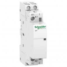 Модульный контактор Schneider Electric Acti 9 iCT, 100 А, 2NO, 220-240В ~50 Гц