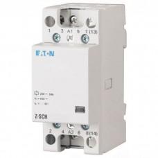 Модульный контактор Eaton (Moeller) Z-SCH230/1/25-20, 25 А, 2NO, 220-240В ~50 Гц