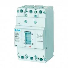 Автоматический выключатель с термомагнитным расцепителем Eaton BZM1, 100А, 3 полюса, 25 кА