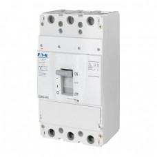 Автоматический выключатель с термомагнитным расцепителем Eaton BZM3, 320А, 3 полюса, 25 кА