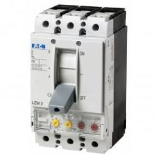 Автоматический выключатель с термомагнитным расцепителем Eaton серии LZM, 250А, 3 полюса, 36 кА