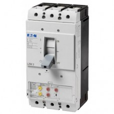 Автоматический выключатель с термомагнитным расцепителем Eaton серии LZM, 400А, 3 полюса, 50 кА