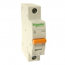 Автоматический выключатель Schneider Electric ВА63 Домовой, 63А, 1 полюс