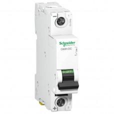 Автоматический выключатель постоянного тока Schneider Electric C60H-DC, 0,5А, кривая С, 1 полюс