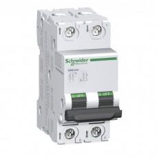 Автоматический выключатель постоянного тока Schneider Electric C60H-DC, 0,5А, кривая С, 2 полюса