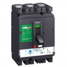 Автоматический выключатель с магнитотерм. расцепителем TM100D Schneider Electric EasyPact CVS160B, 3 полюса, 100А, 25 кА