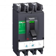 Автоматический выключатель с магнитотерм. расцепителем TM400D Schneider Electric EasyPact CVS400F, 3 полюса, 400А, 36 кА