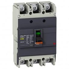 Автоматический выключатель с термомагнит. расцепителем Schneider Electric EasyPact EZC250N, 3 полюса, 125А, 25 кА