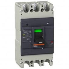 Автоматический выключатель с термомагнит. расцепителем Schneider Electric EasyPact EZC400N, 3 полюса, 400А, 36 кА
