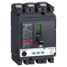 Автоматический выключатель с электрон. расцепителем Schneider Electric Compact NSX100F Micrologic 2.2, 3 полюса, 100А, 36 кА